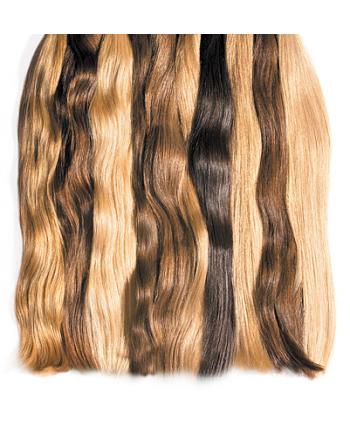 Волосы Люкс на капсулах